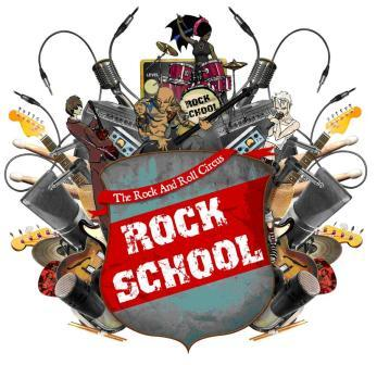 rock school logo